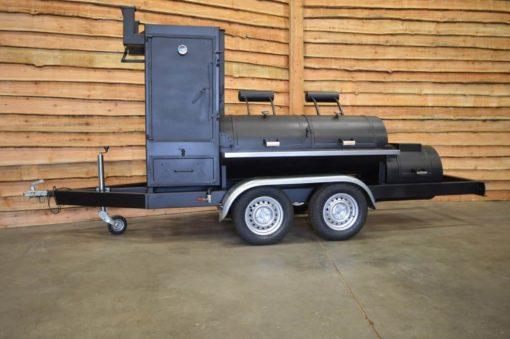 Bbq smoker trailer 26 inch 2 deurs