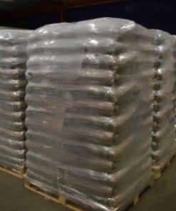 Houtpellets kwaliteit EN+A1 in zakken van 15kg op meerdere pallets