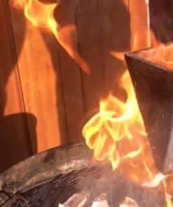 flambadou in vuur