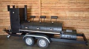 26 inch bbq trailer